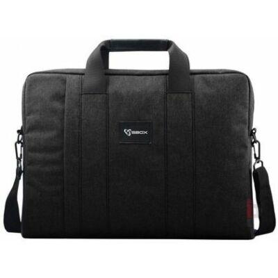 """SBOX Budapest fekete 15,6"""" laptop táska"""