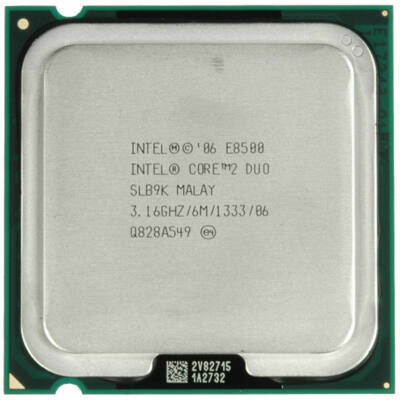Intel Core 2 Duo E8500 processzor