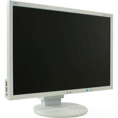 """Nec EA223WM 22"""" fehér felújított használt monitor"""