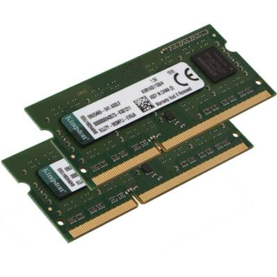 Új Kingston KVR16S11K2/16  16GB (2x8GB) DDR3 notebook memória