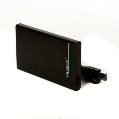 nBase EH-25BE3N USB 3.0 külső merevlemez ház fekete