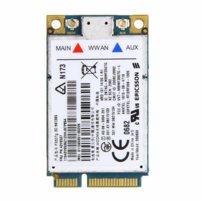 Ericsson F3507g 3G kártya