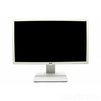"""Acer B246HL használt monitor fehér LED 24"""""""