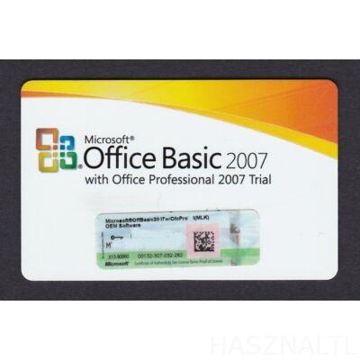 Microsoft Office Basic 2007 (OEM) (Angol)
